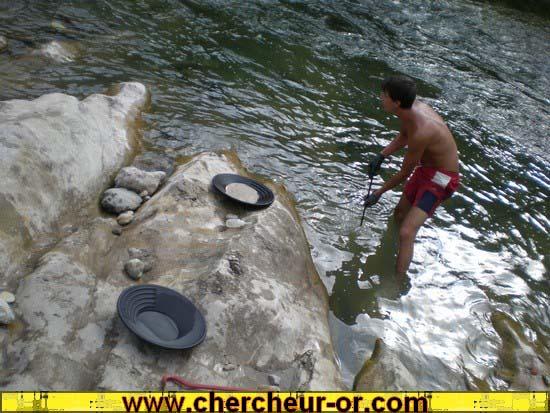 comment reconnaitre une riviere aurifere