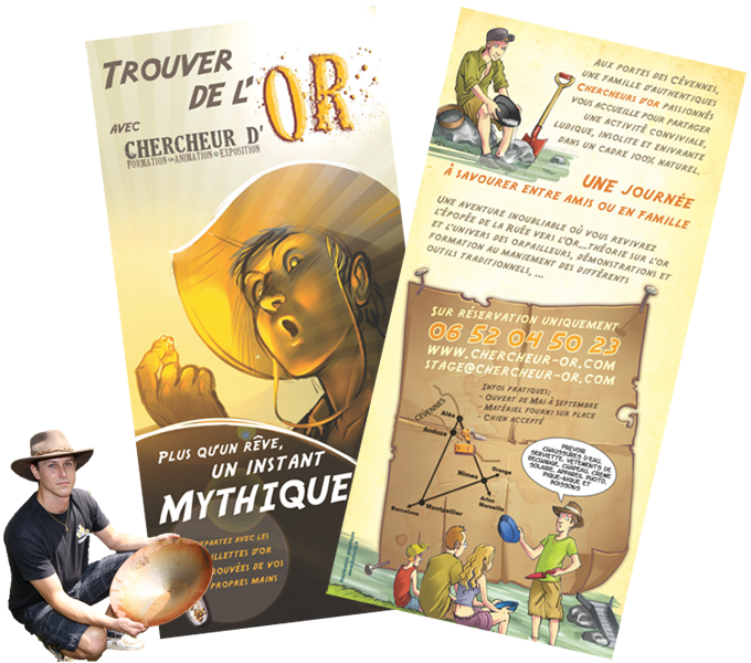 flyer chercheur d'or 2014